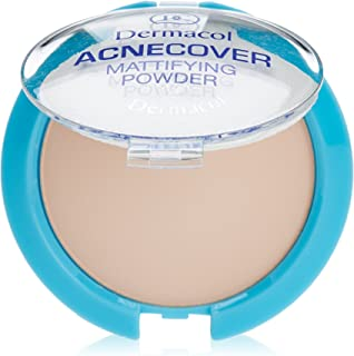 Dermacol Cosmetics Acnecover Mattifying Compact Powder 11g (Porcelain)