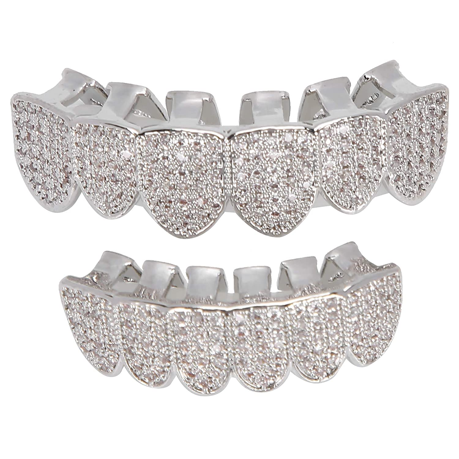 Ranking TOP8 Teeth 2021 autumn and winter new Set Not Easy To Brace Hop Fade Hip Decoration
