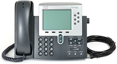 Cisco 7962G Unified VoIP Phone - Silver/Dark Grey (Renewed) photo