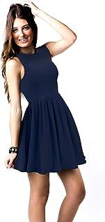 Vedicci Vestidos de Mujer Casuales con diseño cómodo, Fresco y Ligero. Vestido Casual para Mujer Ideal para Verano. Vestid...