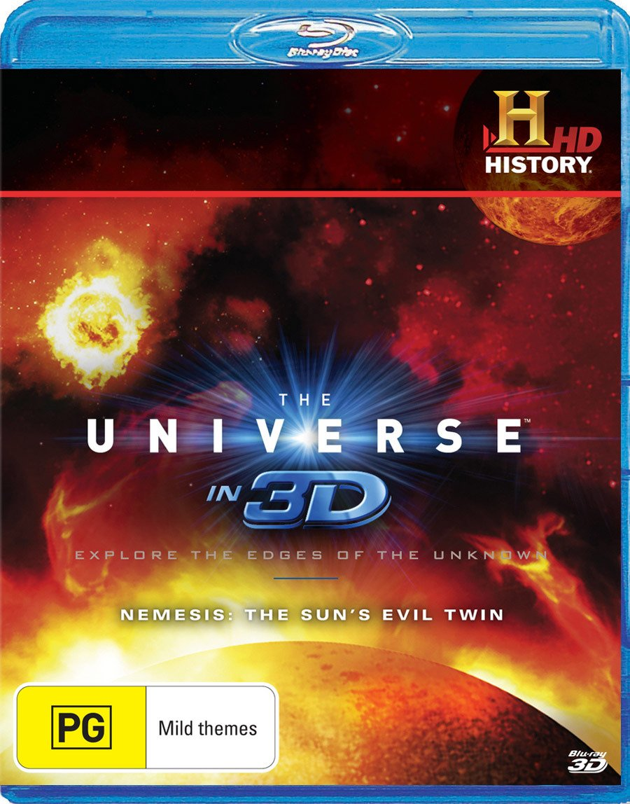 The Max 89% OFF Universe in 3D: Nemesis - 3D Twin Los Angeles Mall Evil Blu-Ray Sun's