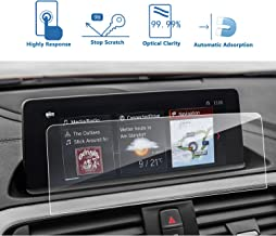 LFOTPP BMW 2 Series 3 Series 4 Series8.8-Inch Car Navigation Screen Protector,Clear Tempered Glass Center Touch Screen Protector Anti Scratch High Clarity