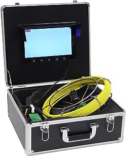 10 inch kleuren LCD-monitor Pijpinspectiesysteem Rioolinspectiesysteem WiFi-endoscoop voor pijpleidingen(European standard...