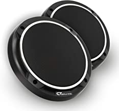 CT Sounds 6.5 Inch Car Audio Speaker Grills - 2-PCS, Rustproof, Dust Resistance, Black Colour, Easy Installation and Dismantling