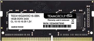 Team ノートPC用 SO-DIMM DDR4 2400MHz PC4-19200 16GB 無期限保証
