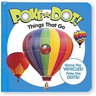 Melissa & Doug 41354 Poke-a-Dot Things That Go | Activity Books | 3+ | Gift for Boy or Girl