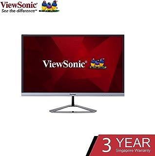 "Viewsonic VX2476-SH 24"" wide, SuperClear Full HD IPS Monitor,Silver"