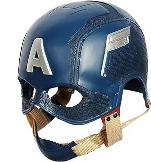 Captain America Mask Helmet for Adult Civil War Cosplay