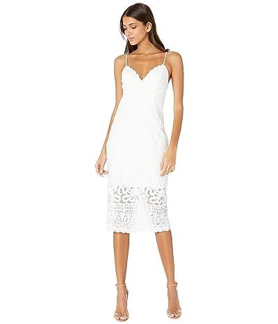 Bardot Gia Lace Dress (Ivory) Women