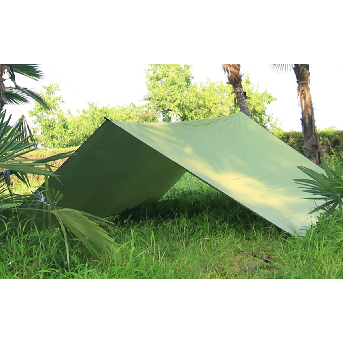 Camping Tent Tarps Waterproof Windproof Snowproof Hammock Rain Fly Shelter Ripst