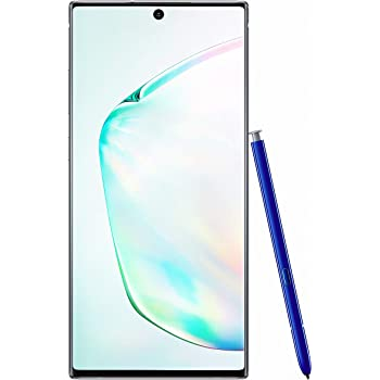 Samsung Galaxy Note 10+ Plus 4G Dual-SIM SM-N975F/DS 256GB (GSM Only, No CDMA) Factory Unlocked 4G/LTE Smartphone - International Version (Aura Glow)
