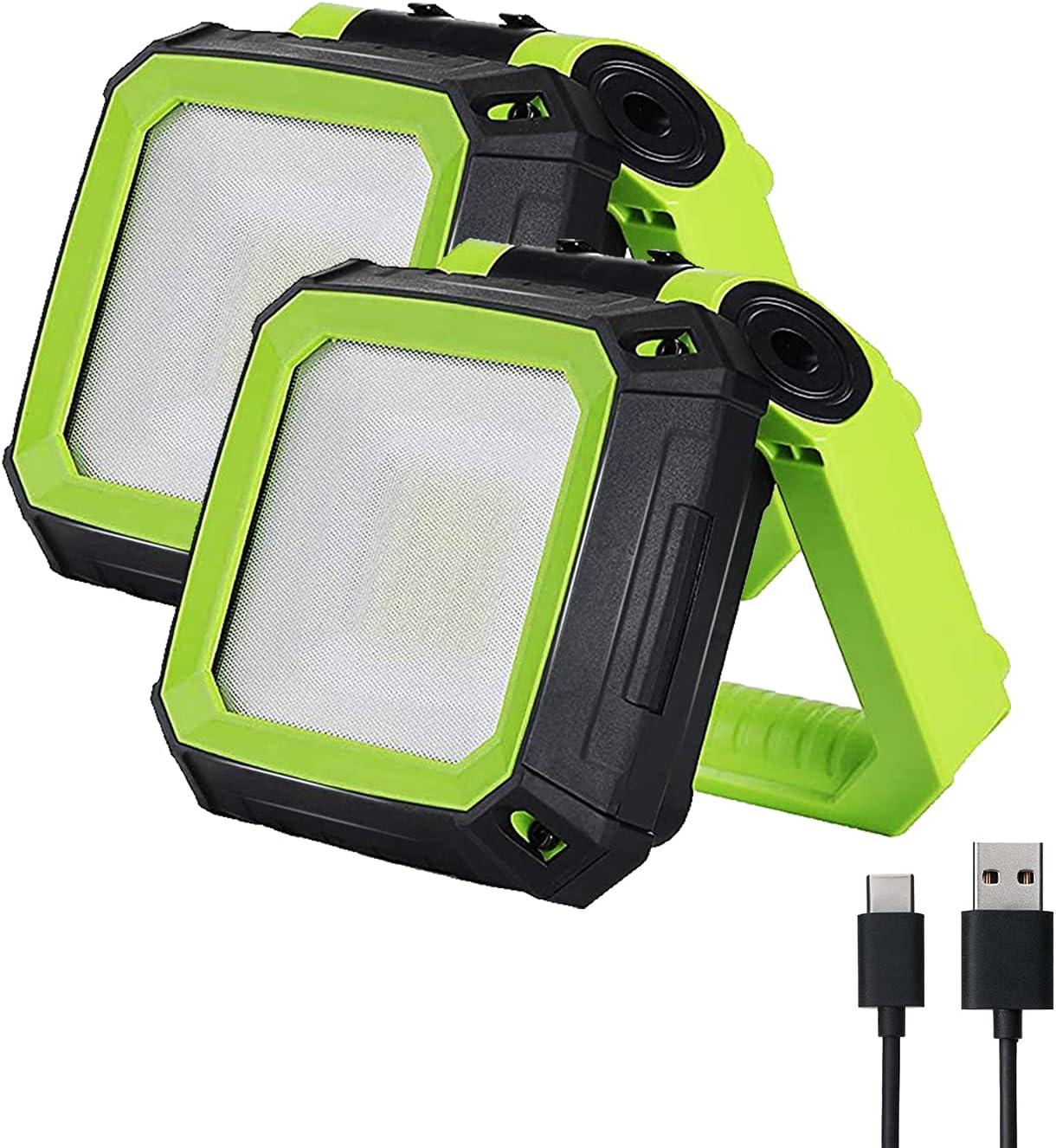 Tekstap 6500k Portable Flood Challenge the lowest Max 63% OFF price Led Rechargeable Light Lights