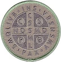 Hook Multitan St. Benedict Cross Medal Tactical Morale Christian Patch SB03