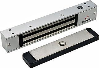 DynaLock 2511 DYN Single Electromagnetic Lock, Outswing, Mini, Dynastat Force Sensor, 650 lb.