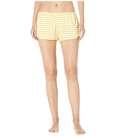 Maison Du Soir Penny Shorts (Yellow Stripe) Women
