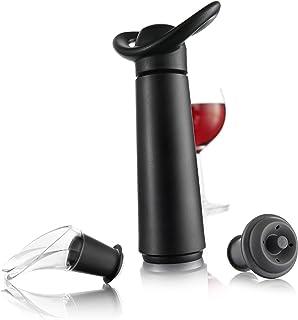 Vacu Vin 0988460 Coffret cadeau Concerto pour conservation du vin Noir