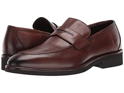 J&M Collection Ridgeland Penny (Dark Brown) Men