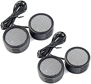 2 Pack Deal Audiopipe 500w High Frequency Car Truck Boat Stereo Tweeters Built-in Crossover