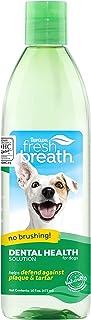 TropiClean Fresh Breath Plaque Remover Pet Water Additive, 16 oz