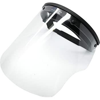 Medspec Protect FS-1.5 Face Shield | Reusable Face Shield For Medical, Dental, & Essential Workers | Fogless & Adjustable Medical Face Guard | Protective Face Shield Made in the USA