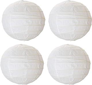 IKEA REGOLIT - Lamp shade (45 cm, 4 units), rice ball design, white
