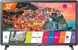 "Smart TV LED 32"" LG Full HD HDR Ativo Upscaler HD webOS 4.0 Virtual Surround Plus, 32LK615BPSB, Preto"