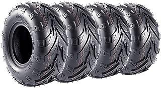 Pack of 4 145/70-6 Tires Go-Kart Street Mini Bike Sport ATV Lawn Tire 145x70-6 145x70x6 4PR