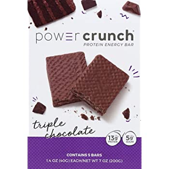 Bionutritional Research Group Power Crunch, Triple Chocolate, 5 Count