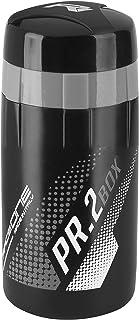 RaceOne - Portaobjetos PR2Box Ideal para Bicicleta Race - Capacidad 500ml - Color Plateado