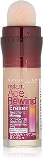 Maybelline Instant Age Rewind Eraser Treatment Makeup, Creamy Natural, 0.68 fl. oz.