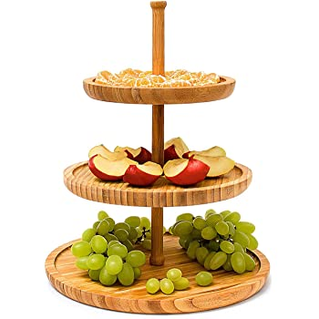 feste festival per feste supporto per torta di frutta 3 strati colore: Bianco Ruby569y dessert per casa Supporto per dolci