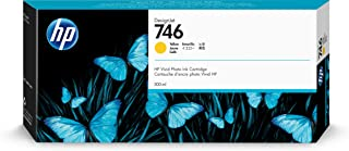 HP 746 Yellow 300-ml Genuine Ink Cartridge (P2V79A) for DesignJet Z6 & Z9+ Large Format Printers