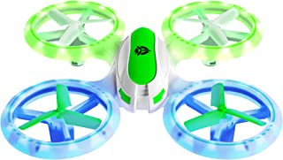 Force1 UFO3000 LED Mini Drones for Kids - Small RC Drones for Beginners, Mini Quadcopter w/ 2 Drone Batteries and Remote Control