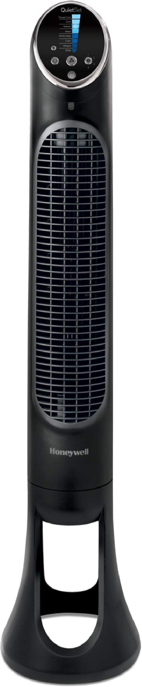 Honeywell QuietSet Whole Room Tower Fan-Black, HYF290B