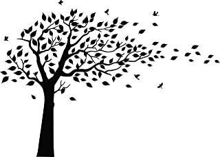 Best black tree wall decal Reviews
