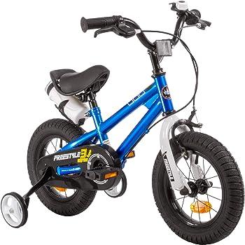 RoyalBaby BMX Freestyle niños bicicleta para niños y niñas, 12-14 ...