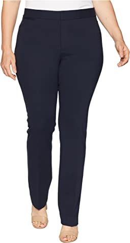 Plus Size Ponte - Trousers