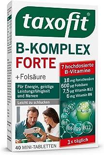 Taxofit Vitamin B-komplex Dragees 40 stycken