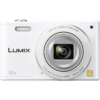 パナソニック デジタルカメラ ルミックス SZ10 光学12倍 ホワイト DMC-SZ10-W