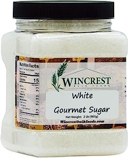 Extra Large Gourmet Sanding Sugar (White)