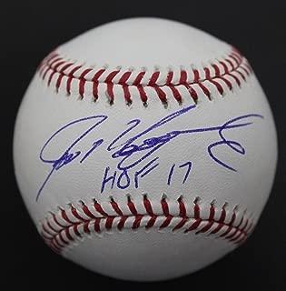 Ivan Rodriguez 'Pudge' HOF '17 Autographed Signed MLB Baseball JSA COA C
