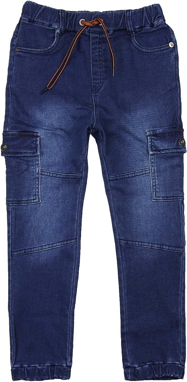 Boboli Boys Denim Pants with Cargo Pockets, Sizes 4-16