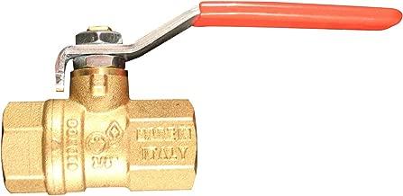 1//2 NPT Female Two Piece Latch-Lock Lever Inline Apollo 70-100 Series Bronze Ball Valve with Automatic Drain