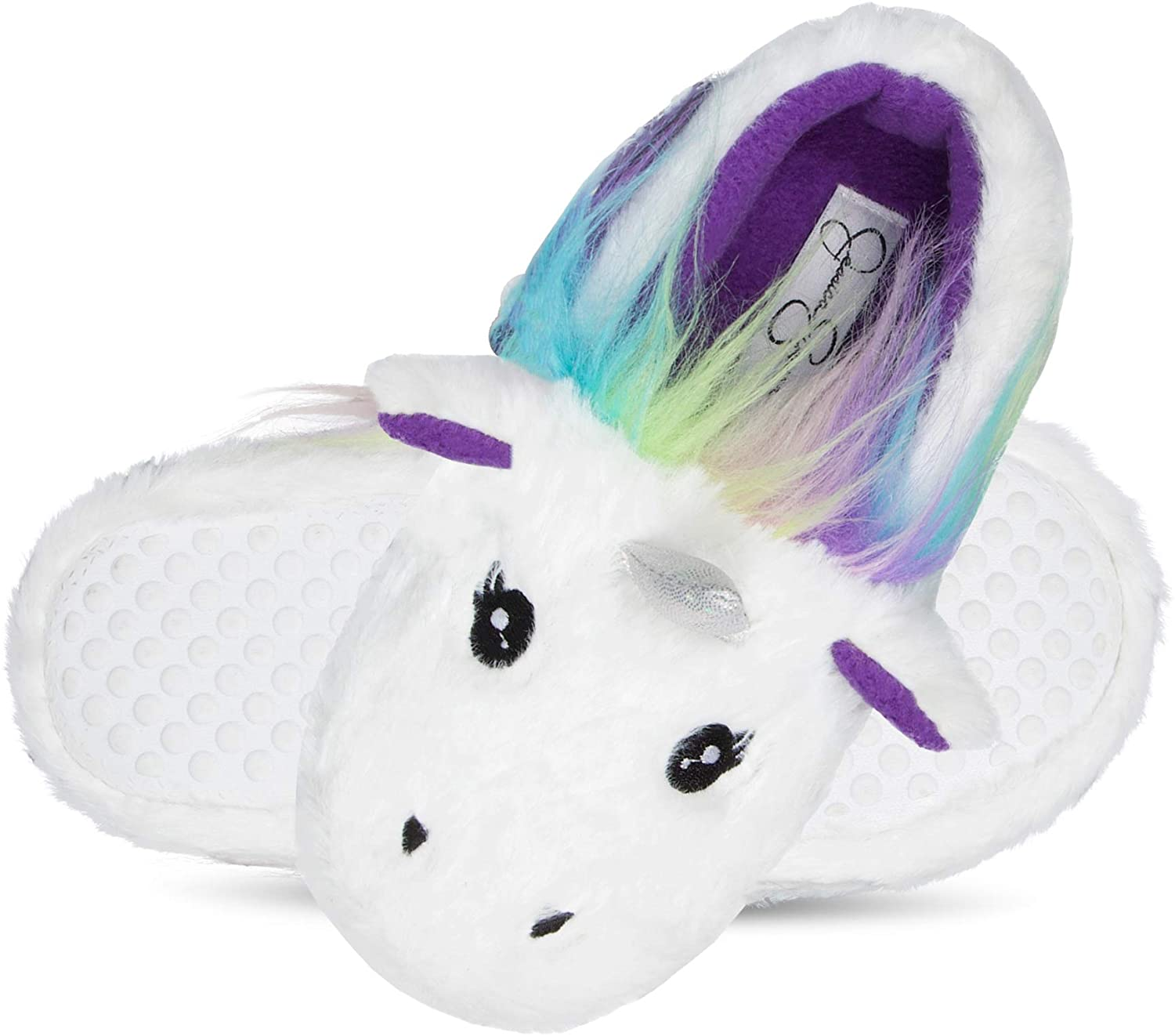 Jessica Simpson Max 51% OFF Girls Cute and Cozy Plush Slippers on Now on sale Slip House