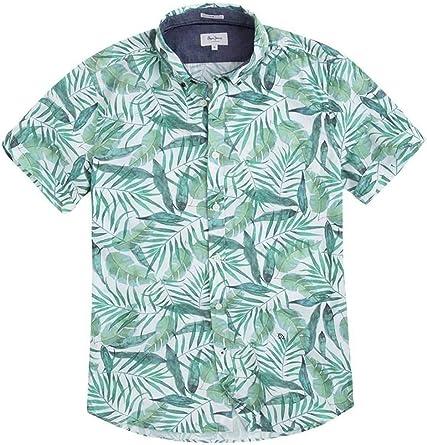 Pepe Jeans - PM305796 Allan - Camisa Manga Corta Estampada ...