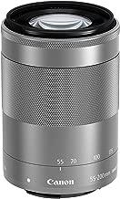 Canon EF-M 55-200mm f/4.5-6.3 Image Stabilization STM Zoom Lens (Silver) (Renewed)