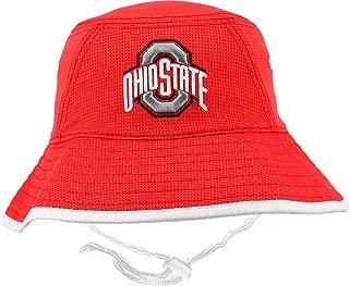Osu Men's Ohio State Buckeyes Scarlet Bucket Hat (OneSize)