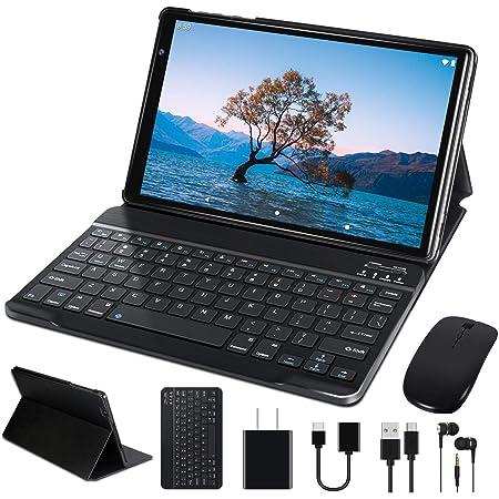 Tablet 10 Pulgadas FACETEL Q3 Android 10.0 4GB de RAM y 64 GB de ROM,5MP 8MP Cámara Tablet PC,Certificación Google GMS - Octa Core | 8000mAh | WiFi | GPS | Bluetooth | Type-C-Gris