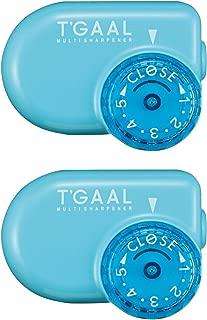2 X Stad T'Gaal Pencil Sharpener - Light Blue