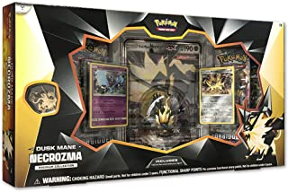 Pokemon TCG: Dusk Mane Necrozma Premium Collection |Pokemon Card and Figurine Set |Features 2 Foil Promo Cards, 5 Booster ...